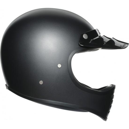 AGV X101 Solid Matt Black Full Face Helmet