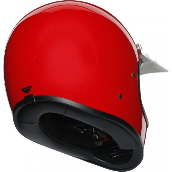 AGV X101 Solid Red Full Face Helmet