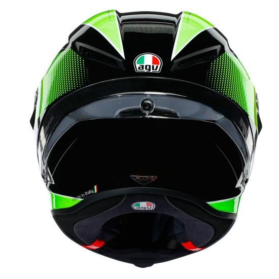 AGV Corsa R Multi Supersport Black White Lime Full Face Helmet