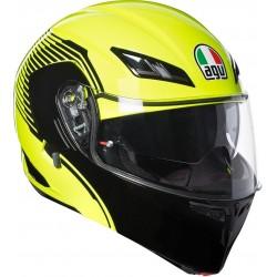 AGV Compact ST Vermont Yellow Black Multi Helmet