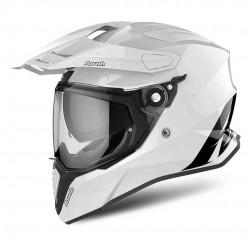 Airoh Commander Color White Gloss Dual Sport Helmet
