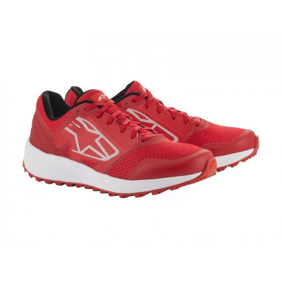Alpinestars Meta Trail Shoes - Red White