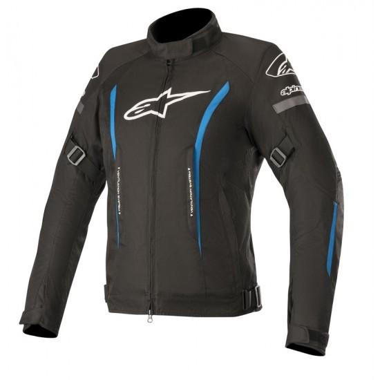 Alpinestars Stella Gunner V2 WP Jacket - Black Bright Blue