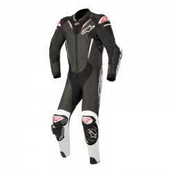 Alpinestars Atem V3 1 Piece Leather Black White Suit