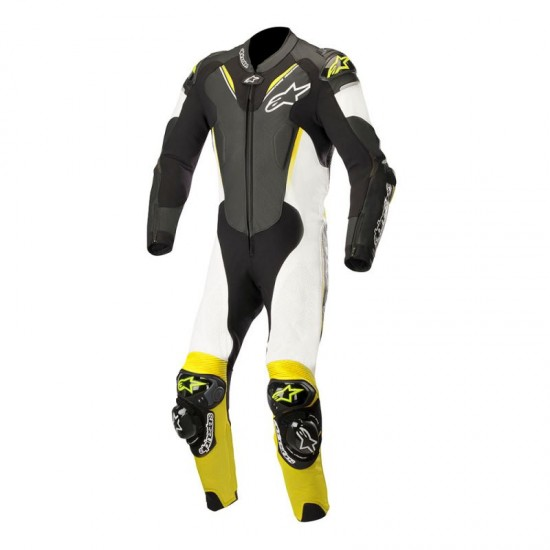 Alpinestars Atem V3 1 Piece Leather Black White Yellow Fluo Suit