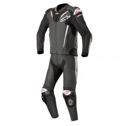 Alpinestars Atem V3 2 Piece Leather Black Suit