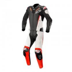 Alpinestars Atem V3 2 Piece Leather White Red Suit