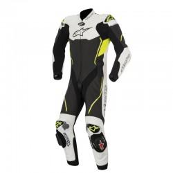 Alpinestars Atem V3 2 Piece Leather Yellow White Black Suit Online India