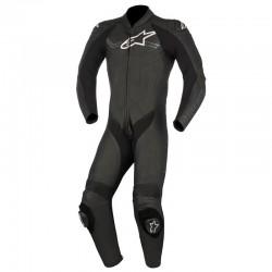 Alpinestars Challenger V2 1 Piece Leather Black Suit