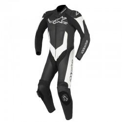 Alpinestars Challenger V2 1 Piece Leather Black White Suit