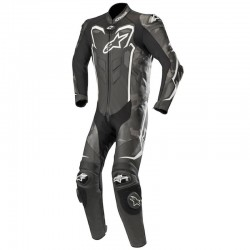 Alpinestars GP Plus Camo 1 Piece Leather Black Camo White Suit