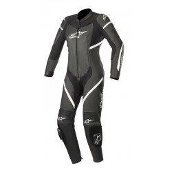 Alpinestars Stella Kira 2Pc Leather Black White Suit