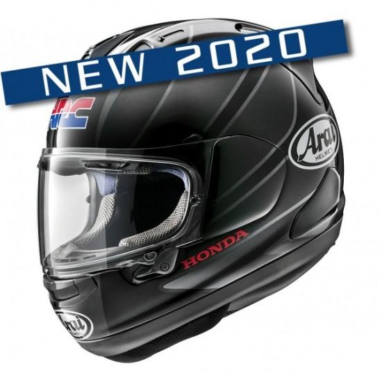 Arai RX-7V Honda CBR Silver Full Face Helmet