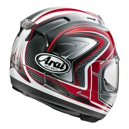 Arai RX-7V Sword Red Full Face Helmet