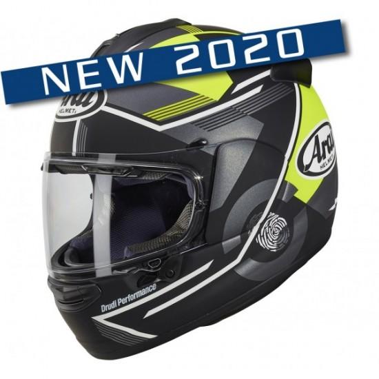 Arai Chaser-X Gene Fluor Yellow Matt Full Face Helmet