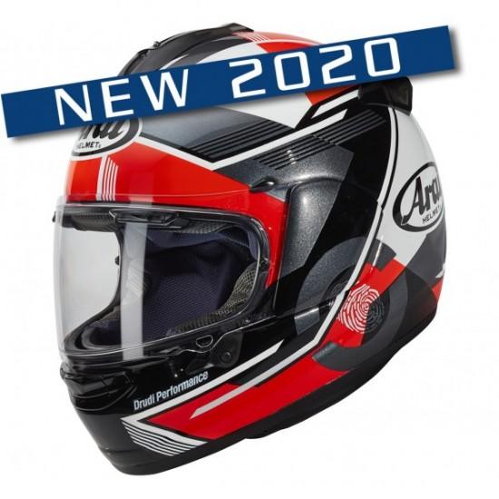 Arai Chaser-X Gene Red Full Face Helmet