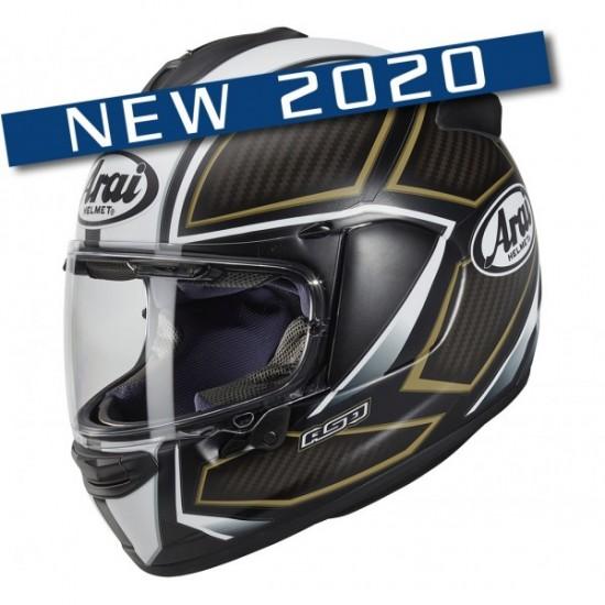 Arai Chaser-X Spine White Full Face Helmet