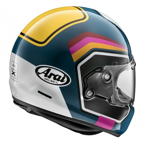 Arai Concept-X Number Blue Full Face Helmet