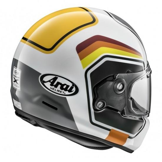 Arai Concept-X Number White Full Face Helmet