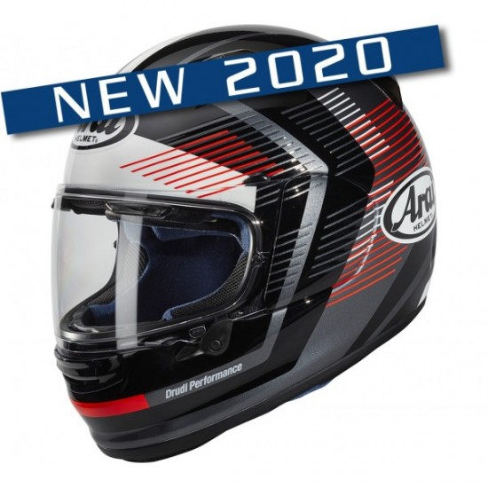 Arai Profile-V Impulse Red Full Face Helmet