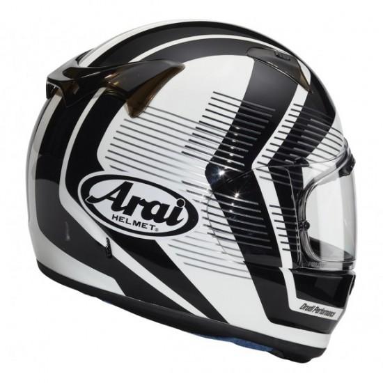 Arai Profile-V Impulse White Full Face Helmet