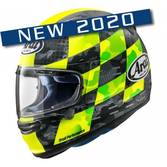 Arai Profile-V Patch Fluor Yellow Matt Full Face Helmet