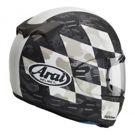 Arai Profile-V Patch White Matt Full Face Helmet