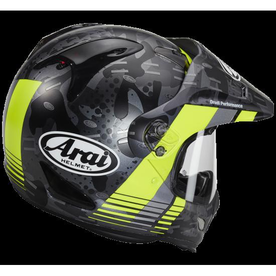 Arai Tour-X4 Cover Fluor Yellow Matt Full Face Helmet
