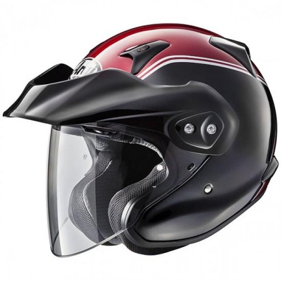 Arai CT-F  Honda Gold Wing Red Open Face Helmet