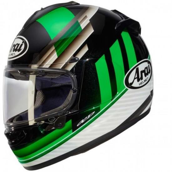 Arai Chaser-X Fence Green Full Face Helmet