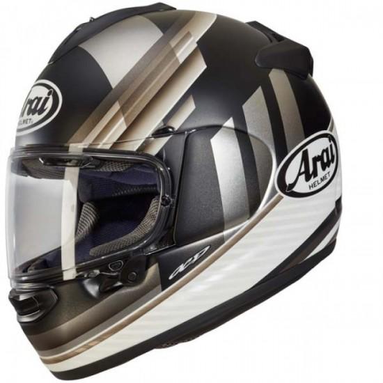 Arai Chaser-X Fence Silver Full Face Helmet