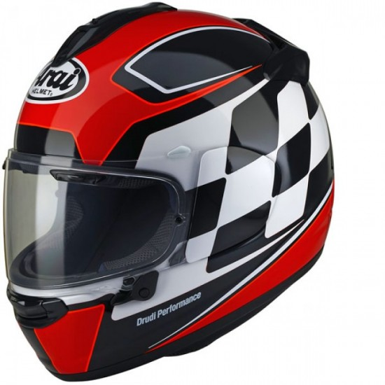 Arai Chaser-X Finish Red Full Face Helmet