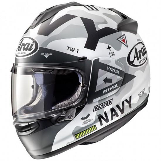 Arai Chaser-X Navy White Full Face Helmet