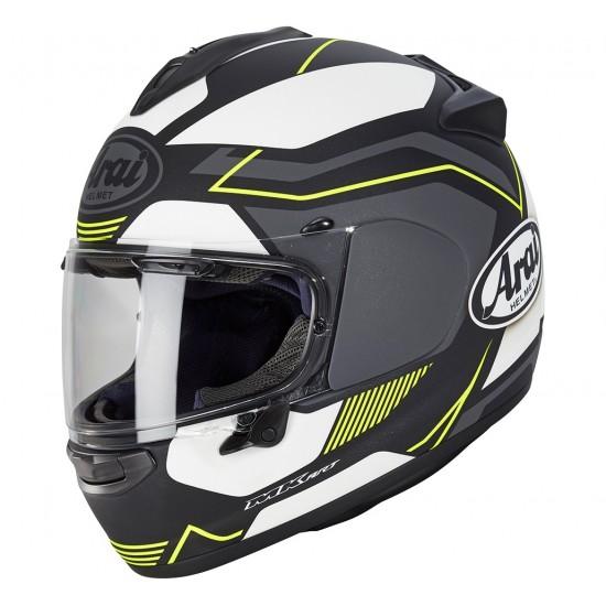 Arai Chaser-X Sensation Yellow Matt Full Face Helmet