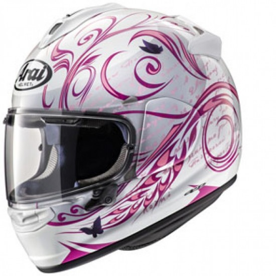 Arai Chaser-X Style Pink Full Face Helmet