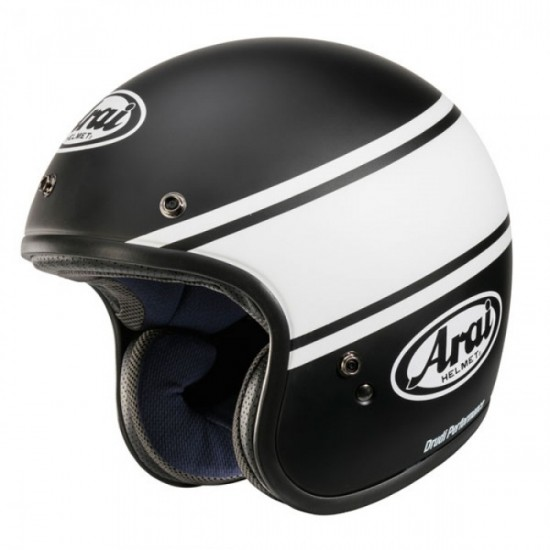 Arai Freeway-Classic Bandage Black Open Face Helmet