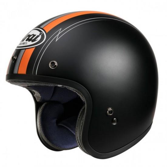 Arai Freeway-Classic Ride Orange Open Face Helmet