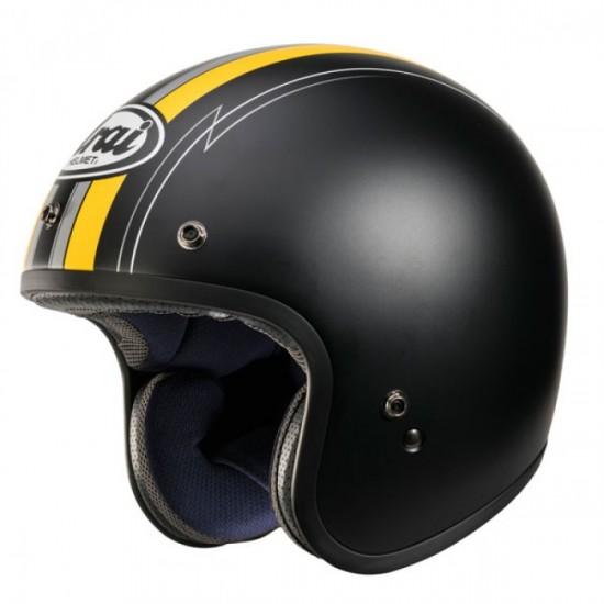Arai Freeway-Classic Ride Yellow Open Face Helmet