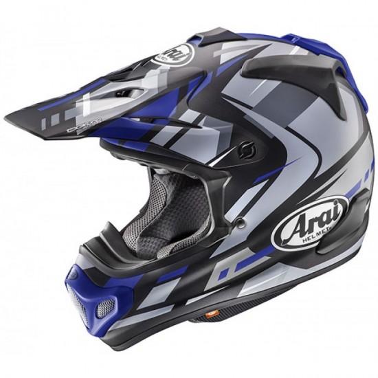 Arai MX-V Bogle Blue Off Road Helmet