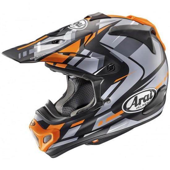 Arai MX-V Bogle Orange Off Road Helmet