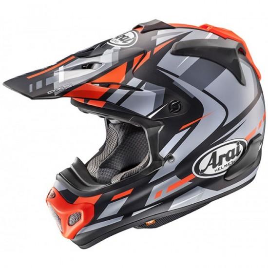 Arai MX-V Bogle Red Off Road Helmet