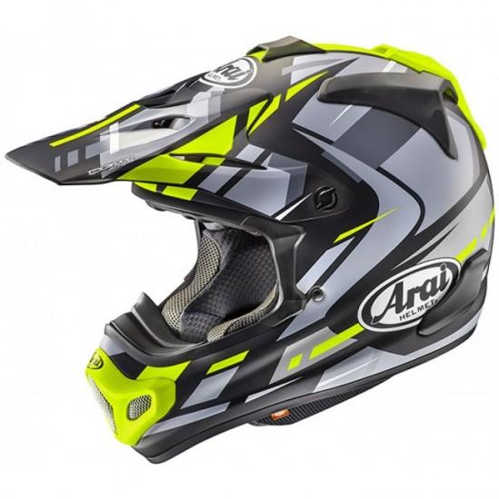 Arai MX-V Bogle Yellow Off Road Helmet