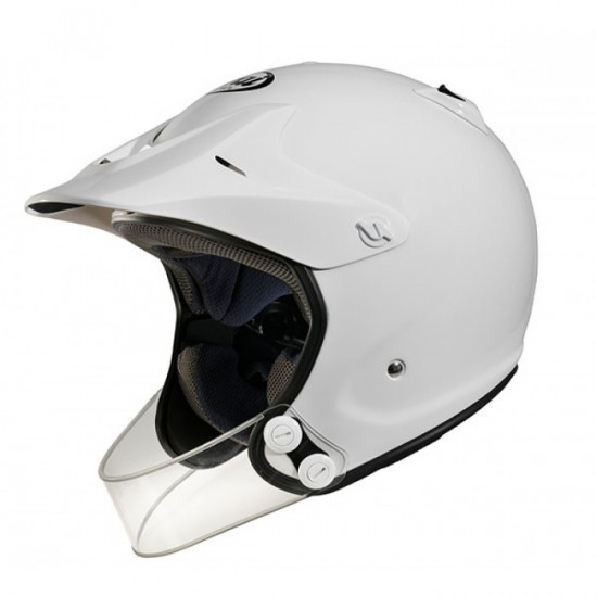 Arai Penta-Pro White Off Road Helmet