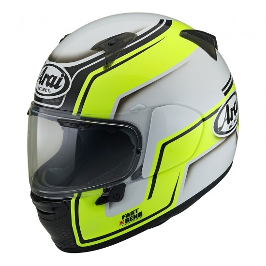 Arai Profile-V Bend Yellow Full Face Helmet