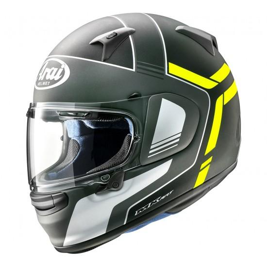 Arai Profile-V Tube Fluor Yellow Matt Full Face Helmet