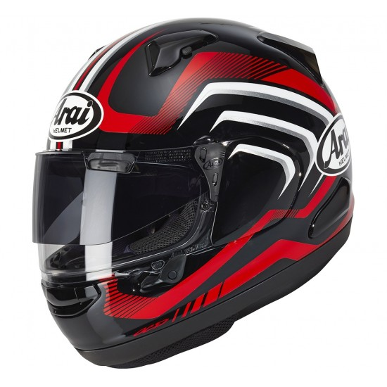 Arai QV-Pro Carve Red Full Face Helmet