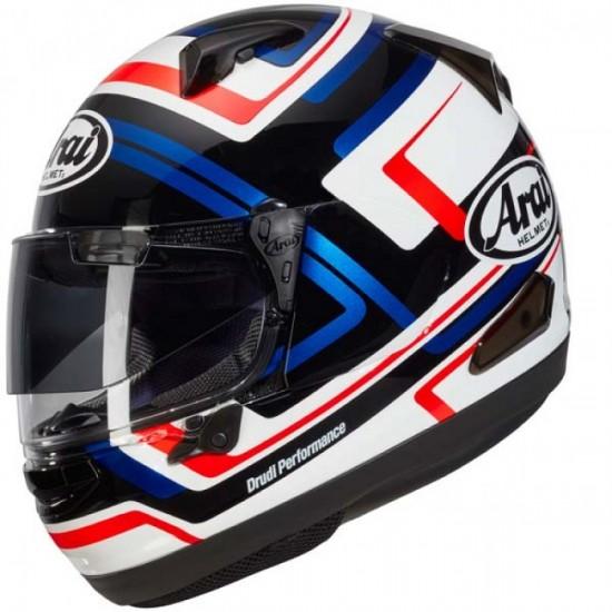 Arai QV-PRO Charged Blue Full Face Helmet