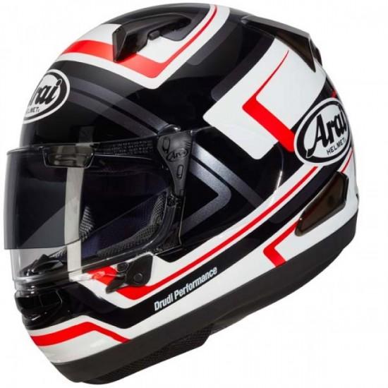 Arai QV-PRO Charged White Full Face Helmet