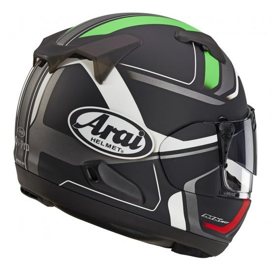 Arai QV-Pro Diverge Green Matt Full Face Helmet