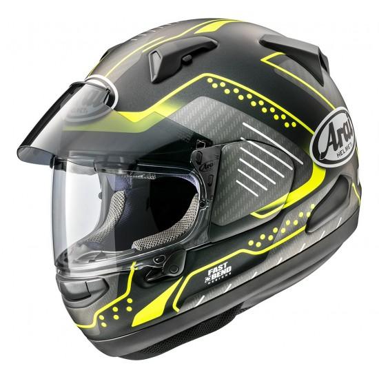 Arai QV-Pro Drone Fluor Yellow Matt Full Face Helmet
